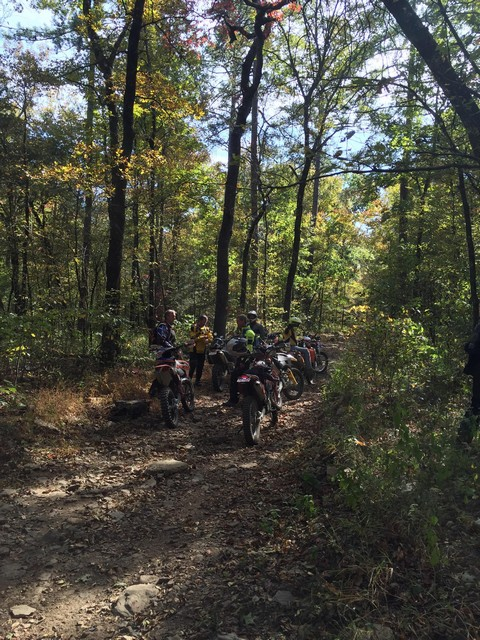 WR Dual Sport Riding Arkansas