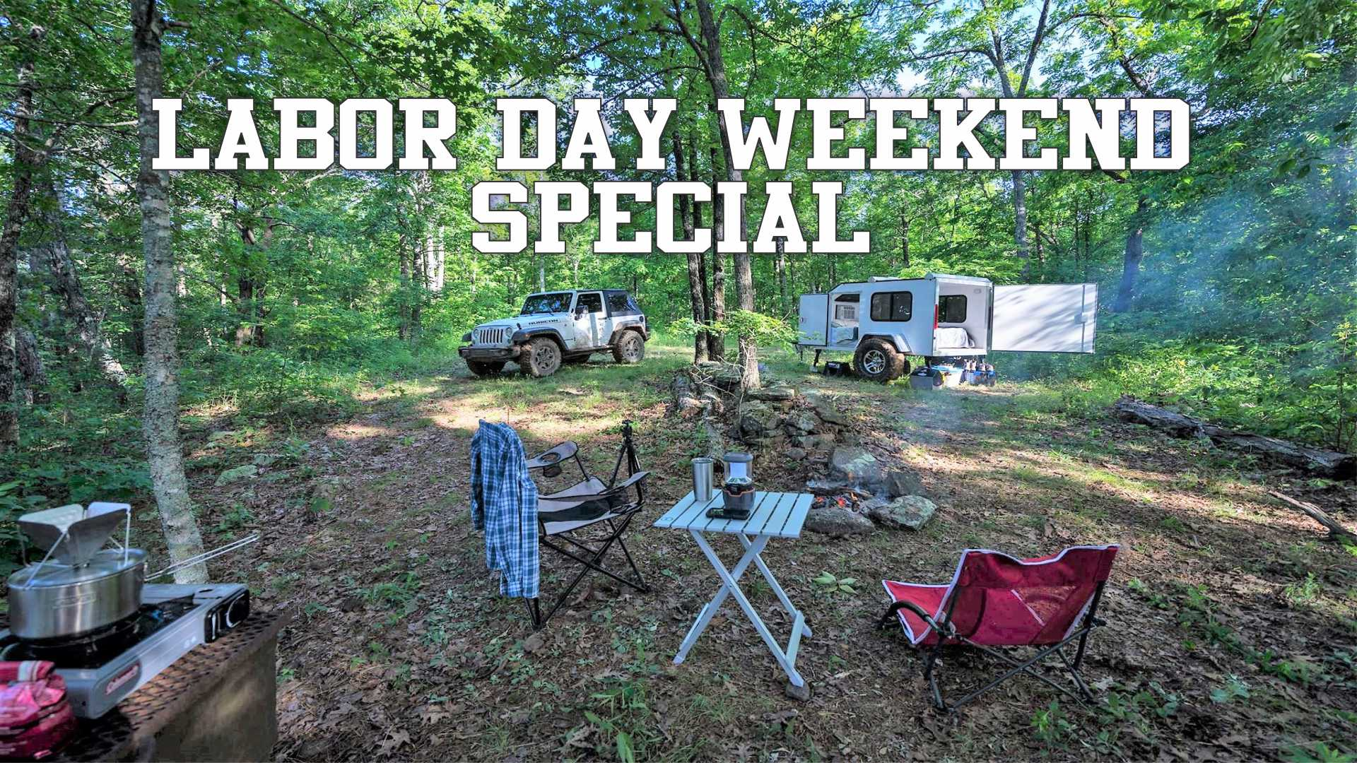 Labor Day Weekend Special in the Ozarks